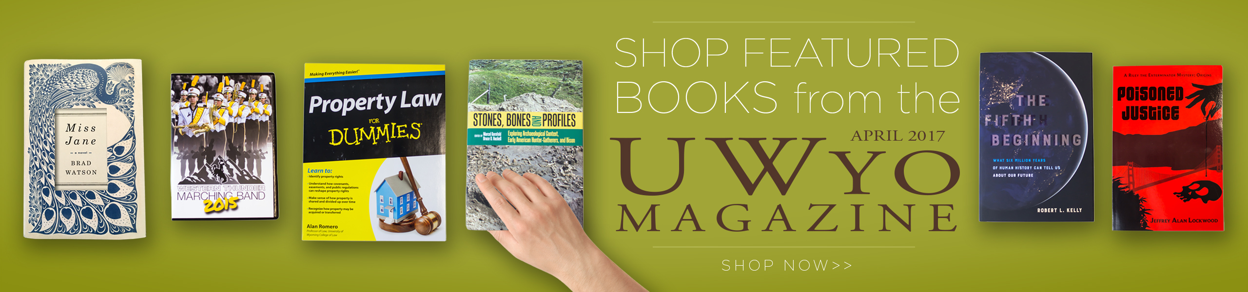 Shop from our UWYO Book Magazine!